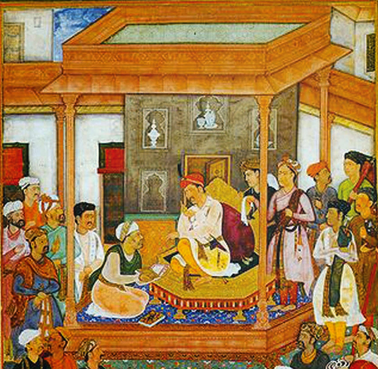 shams i bala and the historical shambhala kingdom akbar the great abulfazlpresentingakbarnama1 jpg