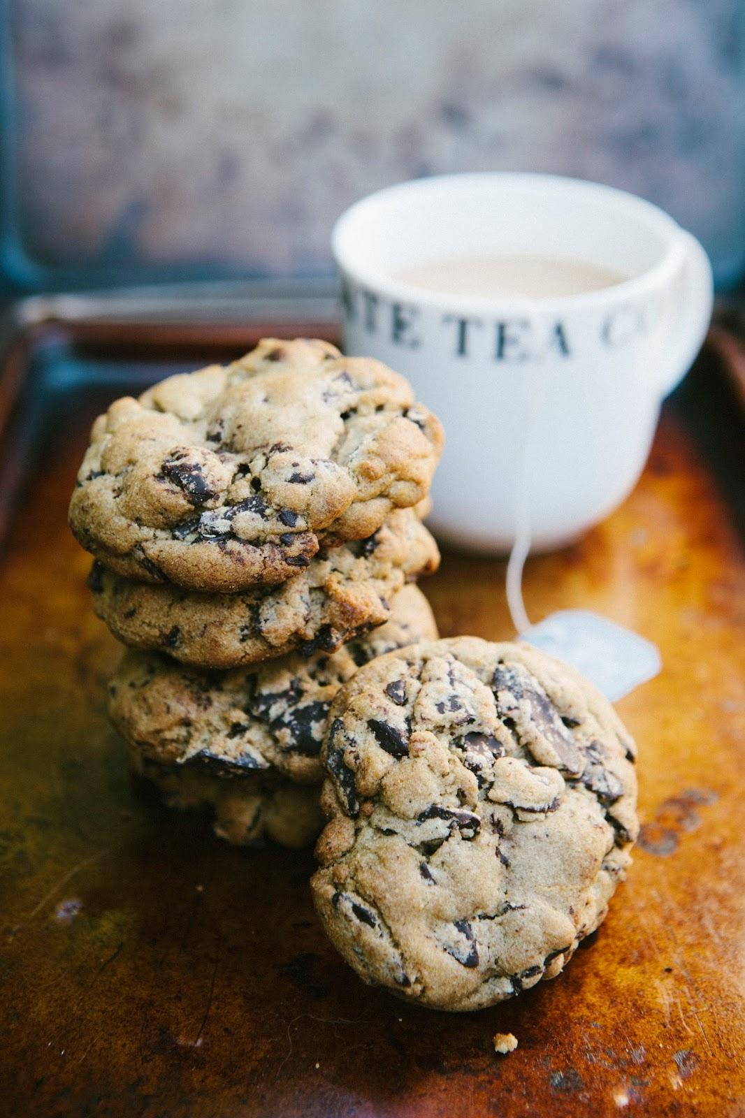 Dark Chocolate and Earl Grey Tea Cookies - hummingbird high || a ...
