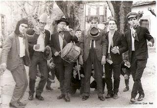 Los Quintos de Candelario(Salamanca) año 1967