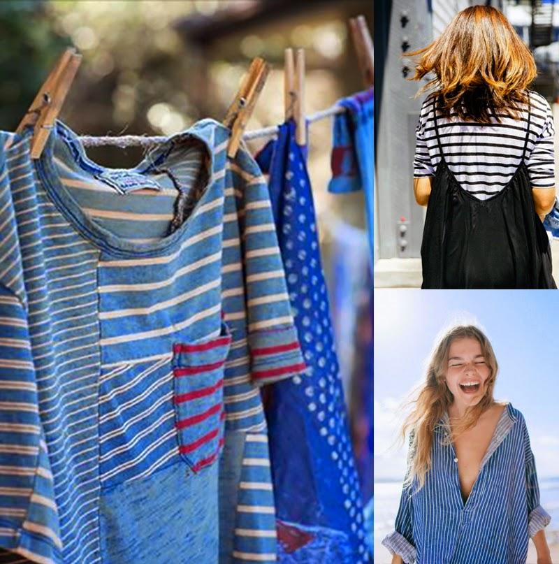 How to wear stripes-www.blog.ninasvintage.com