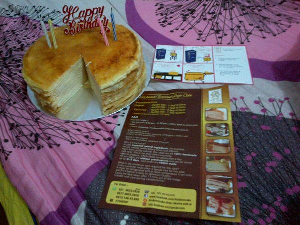 My 27th birthday First Love Cake