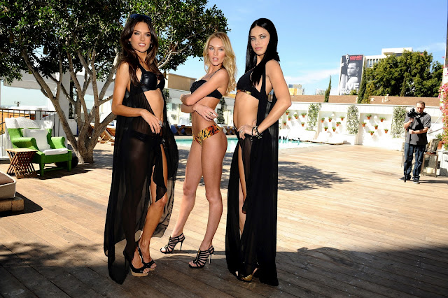 Victoria's Secret Angels launched Swim 2011 campaign in LA
