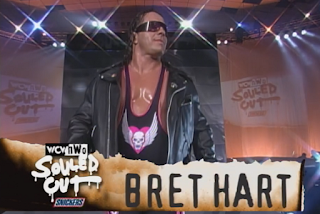 WCW Souled Out 1998 - Bret Hart beat Ric Fair in his debut WCW match