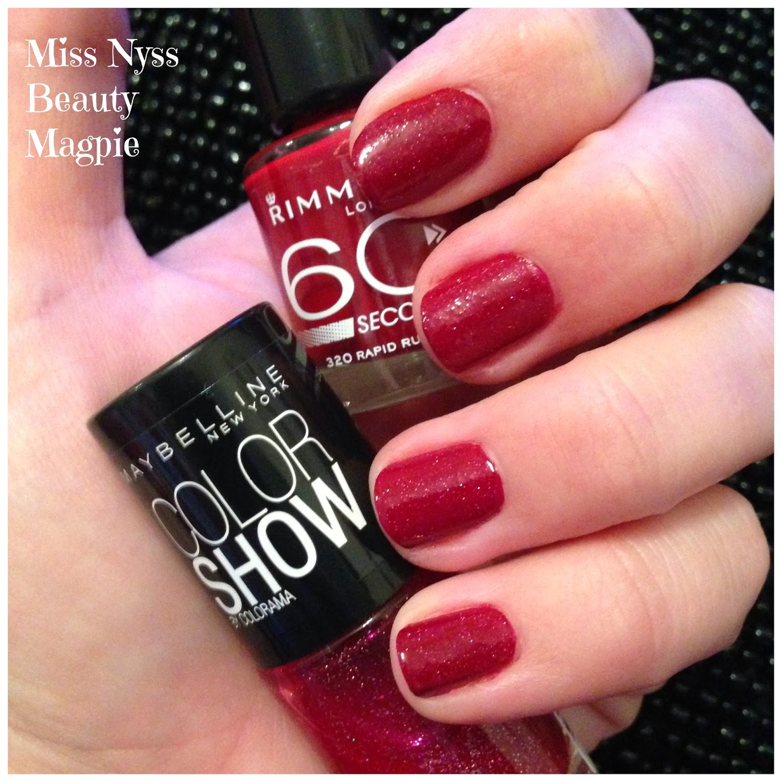 ☆ Miss Nyss Beauty Magpie ☆: NOTD - Rimmel 60 Seconds Nail Polish ...