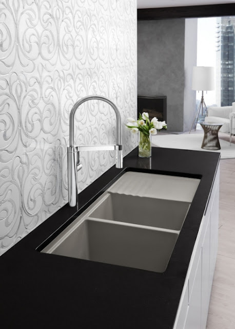 cupboards kitchen and bath faucet love blanco culina. Black Bedroom Furniture Sets. Home Design Ideas