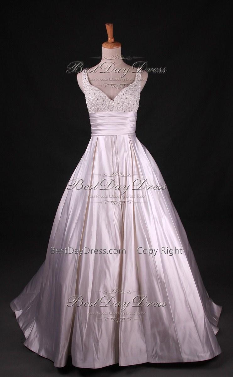 Bridal Gowns Under 800 : Silk wedding dresses for under budget