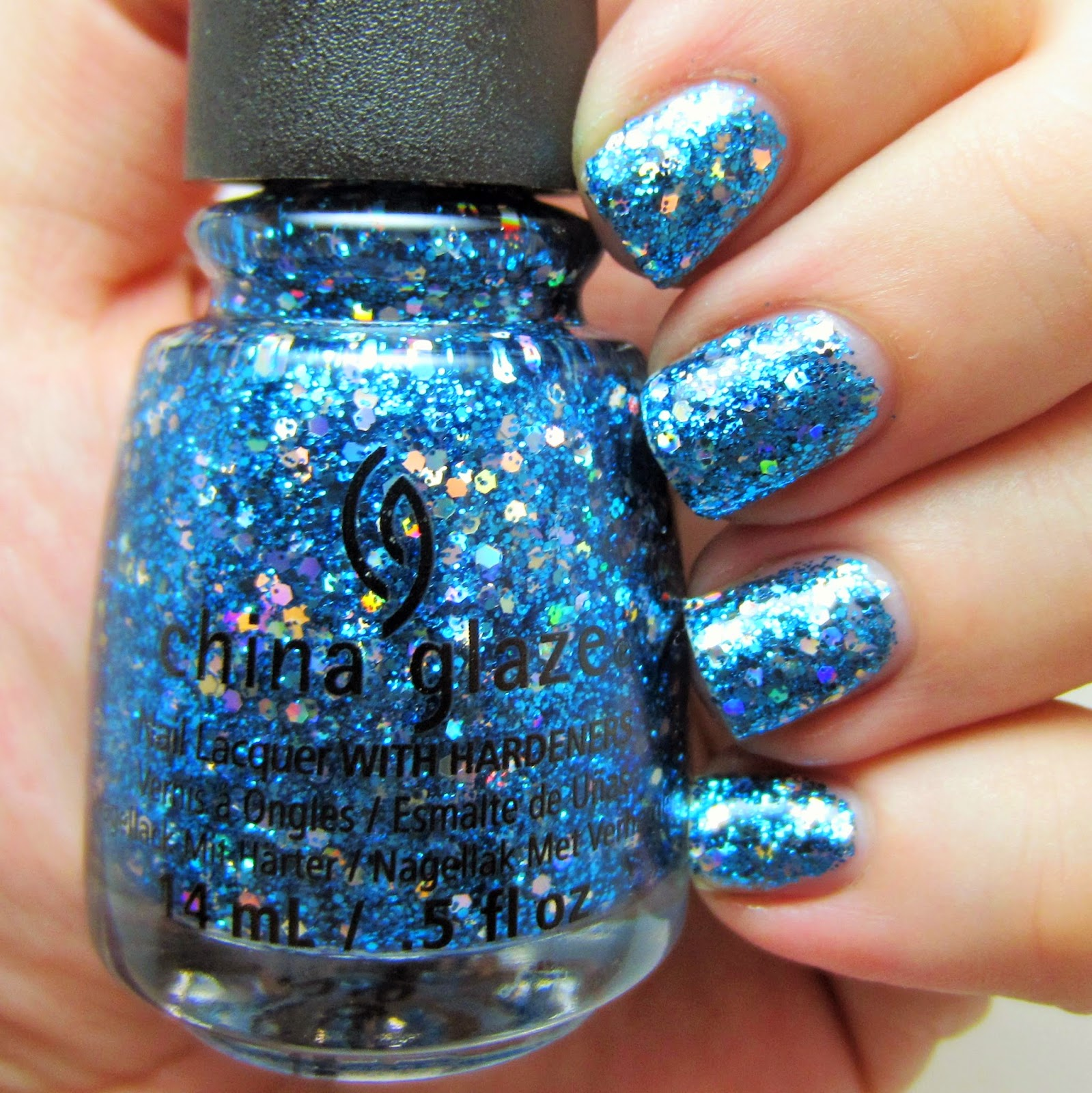 Glitter, China Glaze, core line