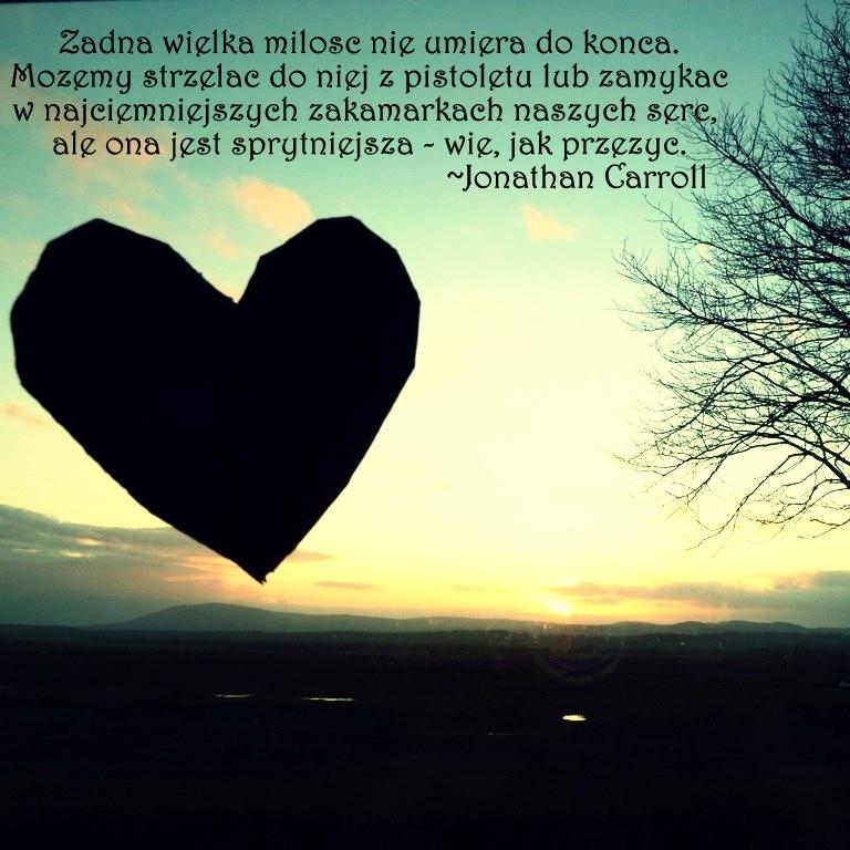 Żadna wielka miłość nie umiera do końca..