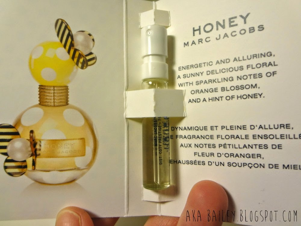 Marc Jacobs Honey perfume sample