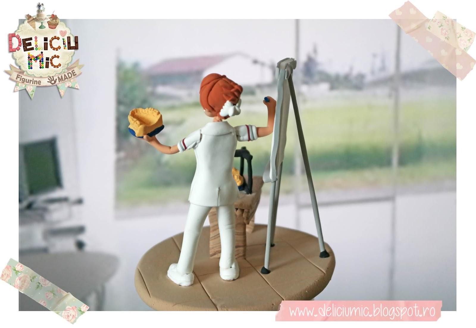 Figurina tort dentist