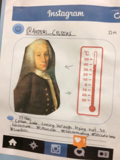 Science Icons on Instagram - Educational Innovations Blog