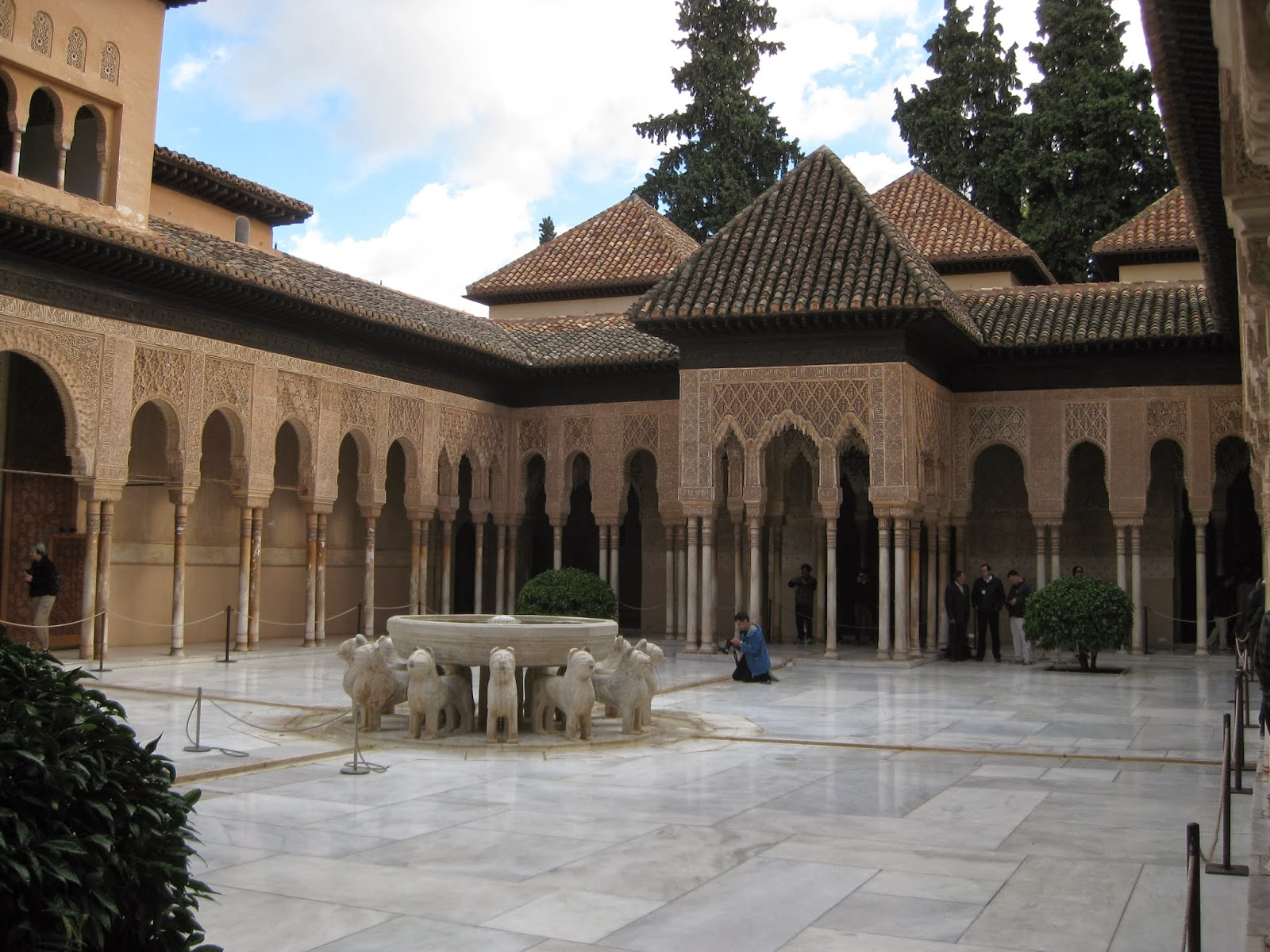 Granada - The Court of the Lions