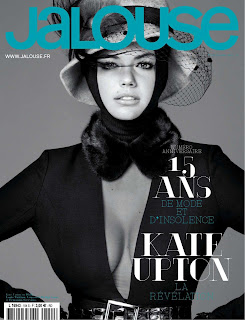 Kate Upton covers Jalouse magazine France Oct 2012 Issue