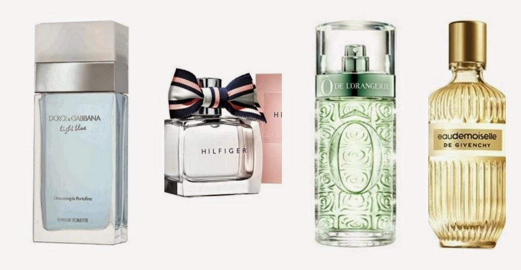 Perfumes Cítricos Florais