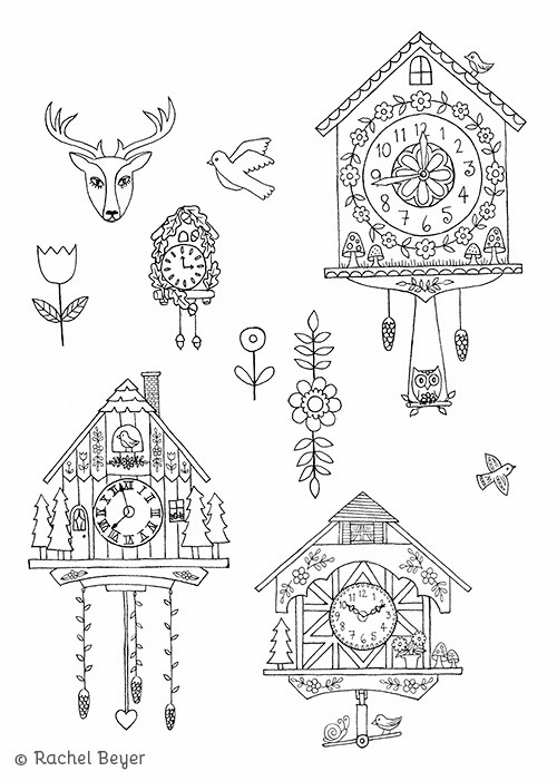 1000 Ideas About Cuckoo Clock Tattoo On Pinterest Clock
