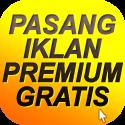 Pasang Iklan Premium Gratis