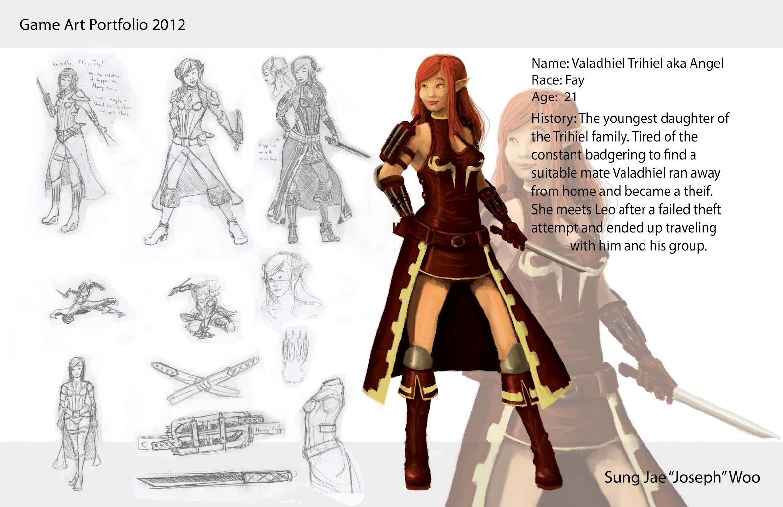 SJWoo Art Blog Game Design Portfolio Fin - Game design portfolio