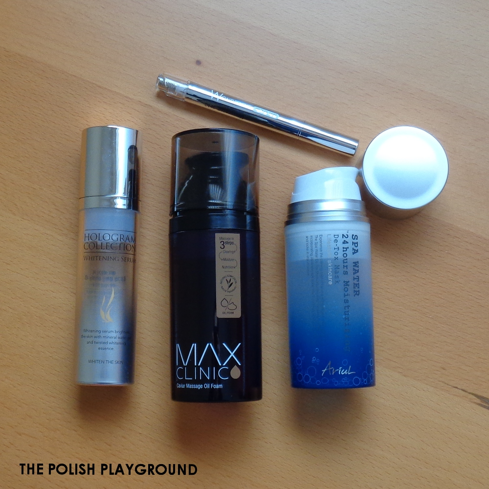 April 2015 Product Empties