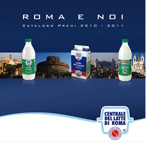Raccolta punti 2011 Centrale del latte di Roma: Roma e noi