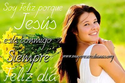 Soy Feliz porque Jesús está conmigo siempre