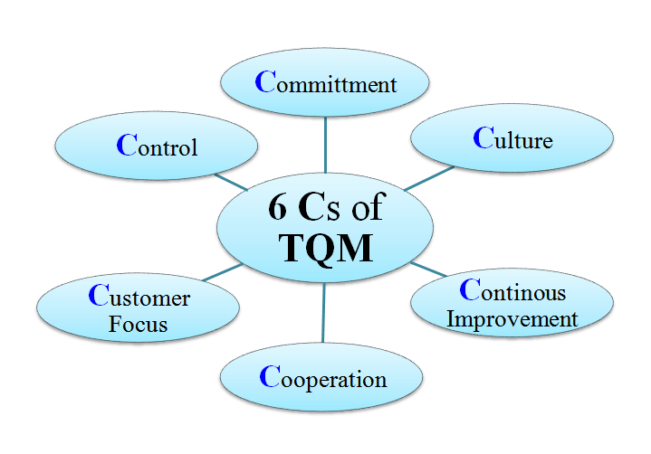 define total quality management Total quality management is a management framework based on the belief that an organization can build long-term success by having all its members, from low-level workers to its highest ranking executives, focus on quality improvement and, thus, delivering customer satisfaction.