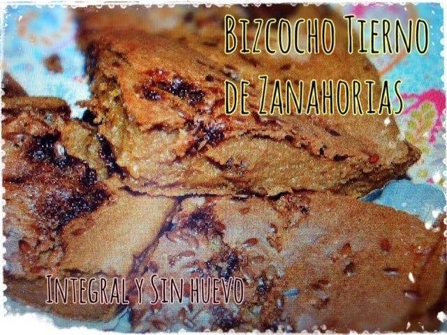 DELICIOSO BIZCOCHO TIERNO DE ZANAHORIAS (SIN HUEVO NI LÁCTEOS)