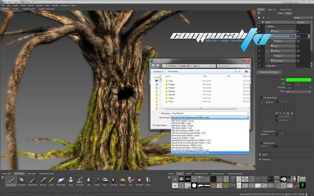 Descargar Autodesk Mudbox 2012 [32 & 64 Bits] Esculpa y Pinte Modelos y Texturas 3D Ultra Realistas
