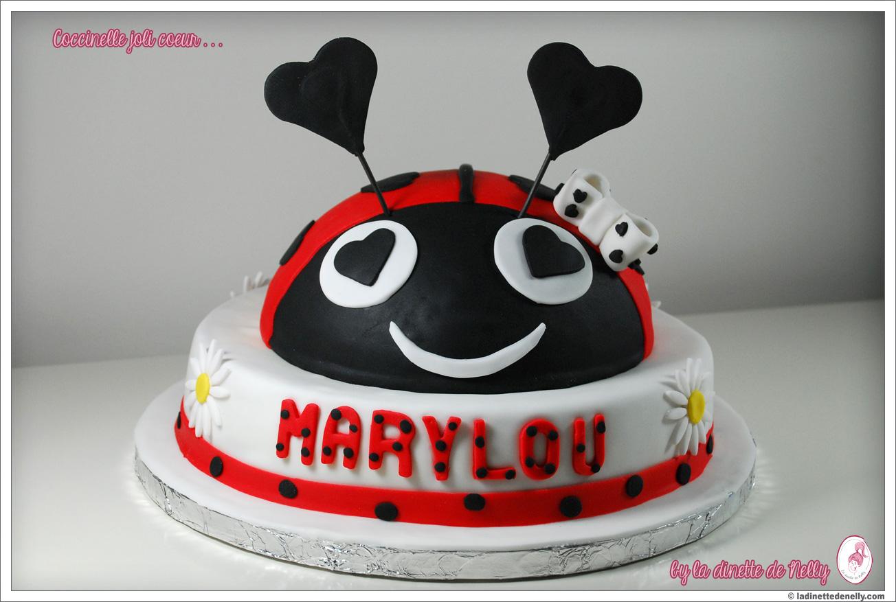 Souvent La Dinette de Nelly: Il était une fois Marylou, son gâteau en pate  MC37