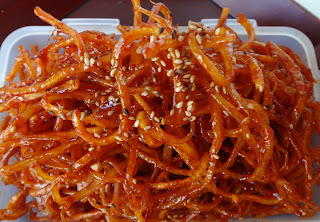 Honey Roast Dried Squid