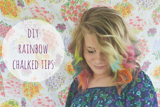 run 2 wild diy rainbow hair