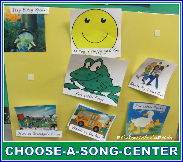 photo of: Visual Choose-a-Song Center, Visual Images for Song Selection