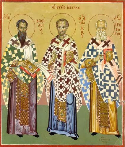 «Ρήτορες σοφίας θεοειδεῖς, στῦλοι Ἐκκλησίας, οὐρανίων μυσταγωγοί,...»