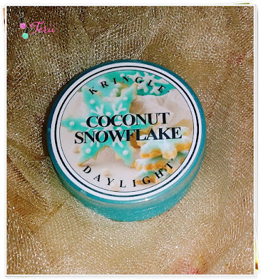 Otul Się Zapachem Kokosa, Coconut Snowflake Mini Świeczka KRINGLE