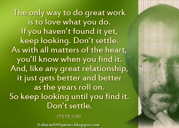 steve jobs 39 inspirational quote abacus1001quotes