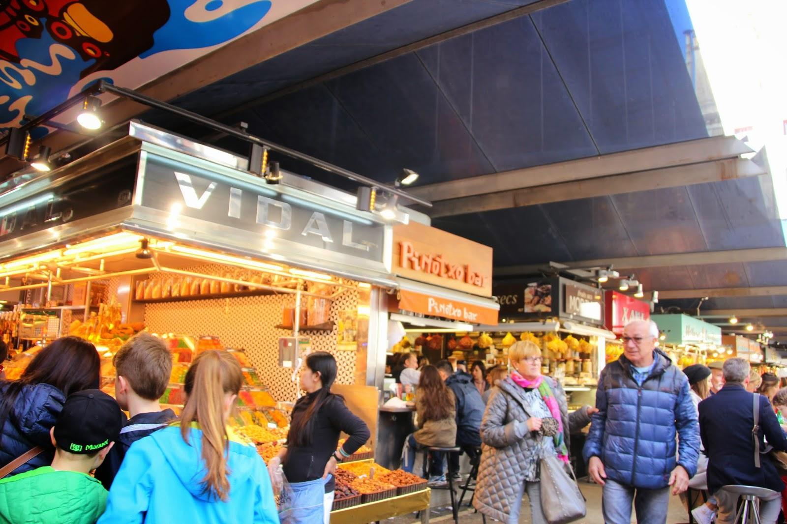 Historia y genealog a mercado de san jos la boquer a - Barcelona san jose ...