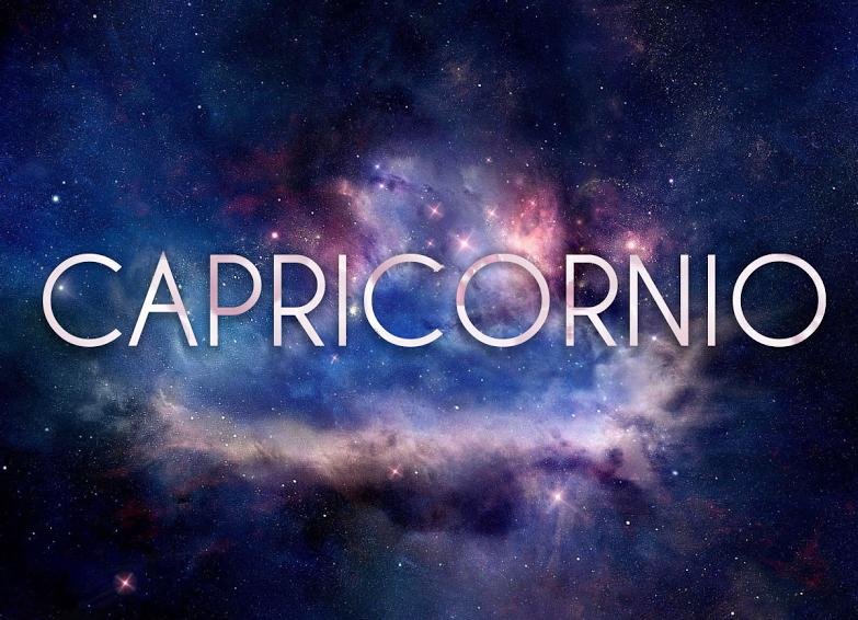 Wallpaper Signo Capricornio en el espacio