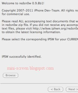 Redsnow 0.9.8 IPSW Identified After Jailbreak