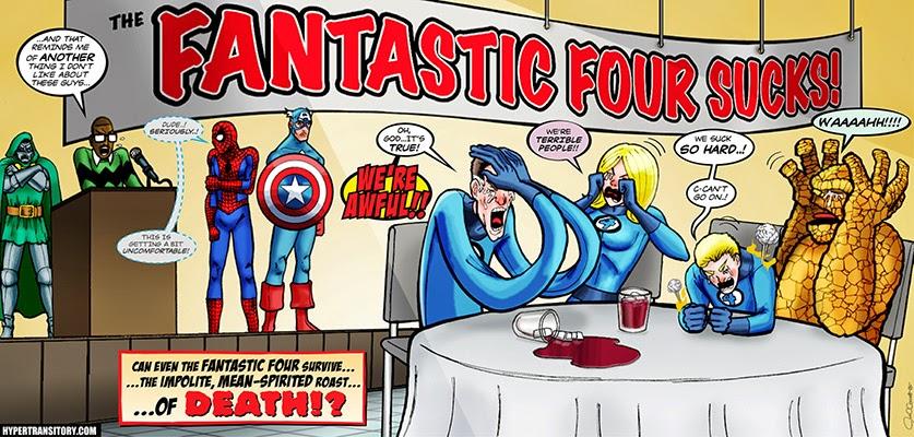 Legendary Marvel. Los 4F apestan