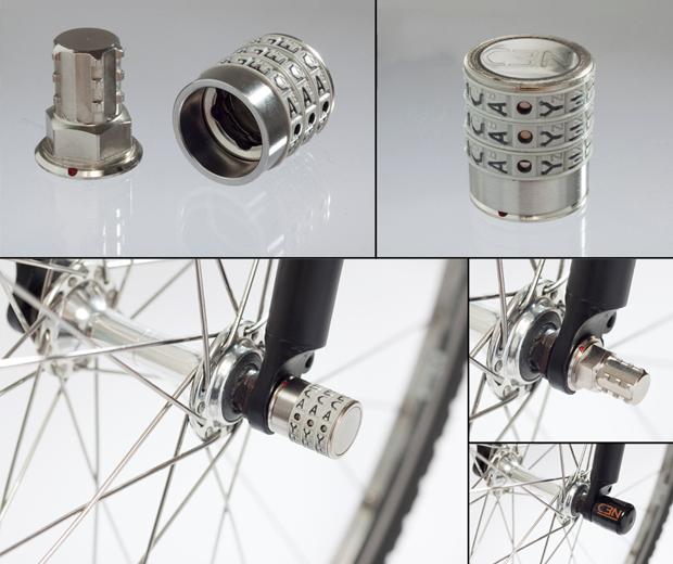 Sphyke Combination  Wheel Lock