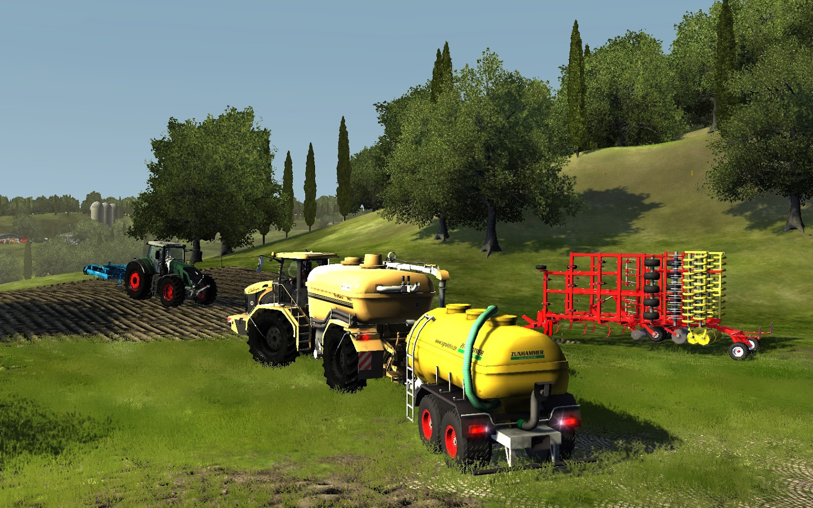 Dream Games: Agricultural Simulator 2013