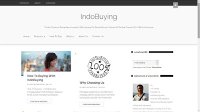 Website Buying Agent Bali