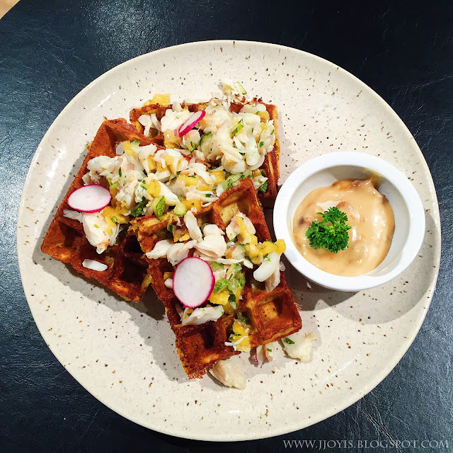 montana brew bar review pomo assam crab waffles