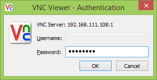 Vnc raspberry windows