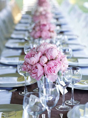 Entertaining - Peonies, my favorite