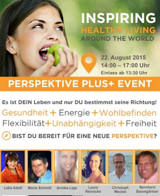 Juice Plus Perspektive Plus Event am 22.8 in Bielefeld