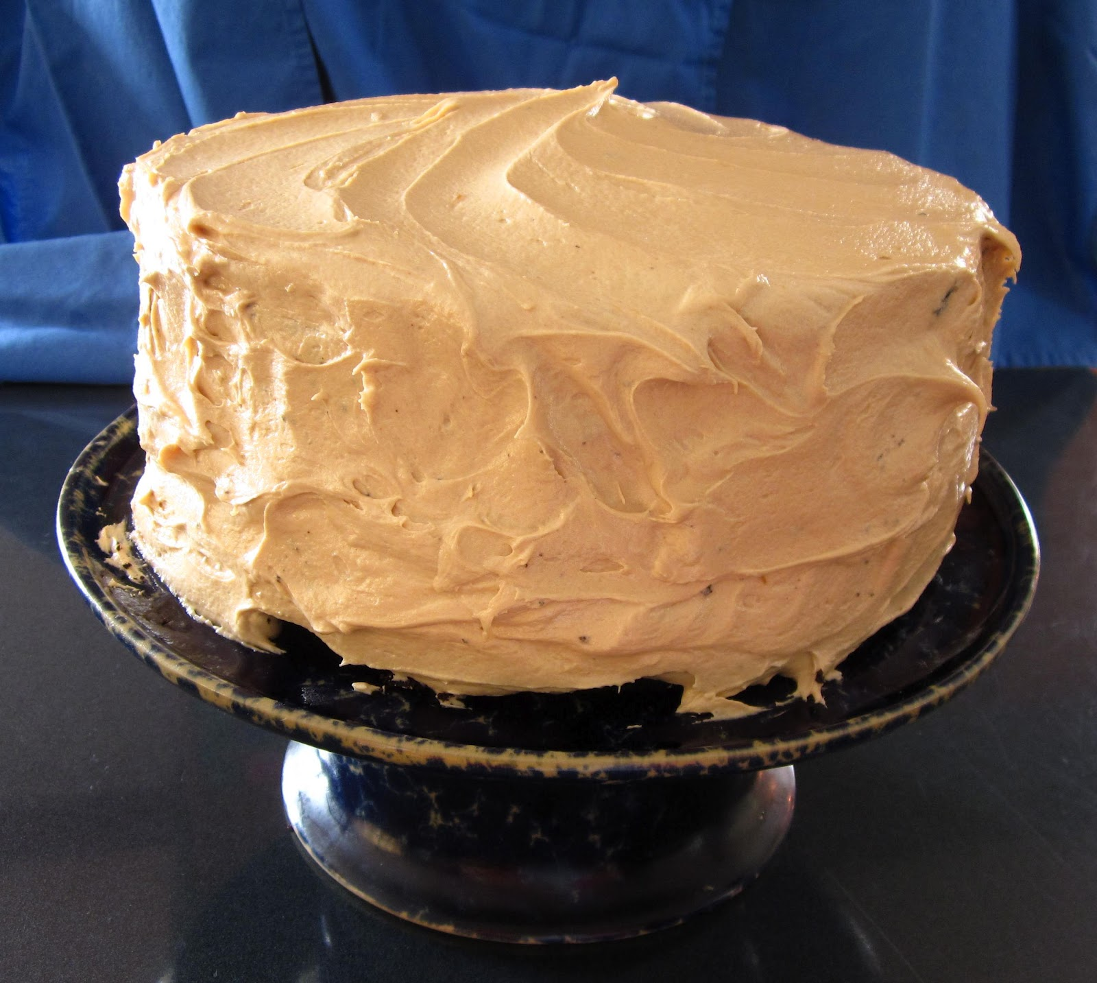 Chocolate Cake With Caramel-Milk Chocolate Frosting Recipes ...