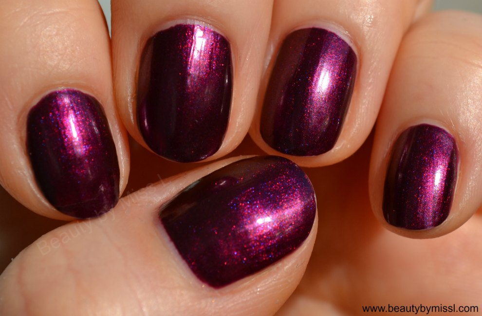 China Glaze Cowgirl Up swatches (direct sunlight)