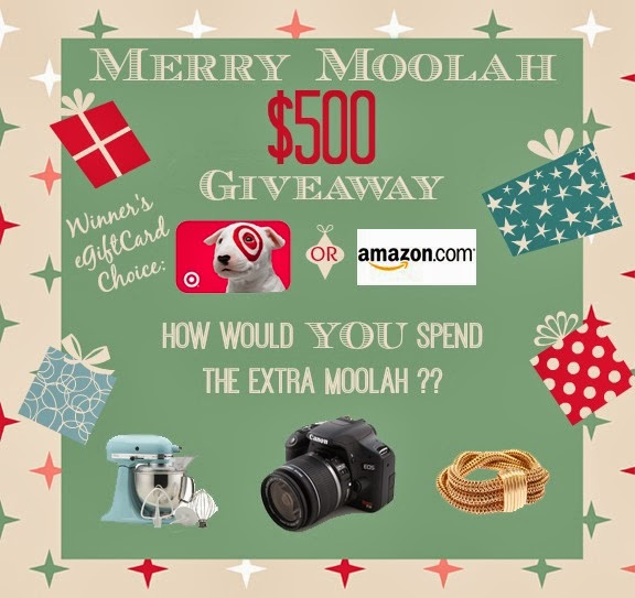 http://whatscookinglove.com/2013/12/merry-moolah-giveaway/