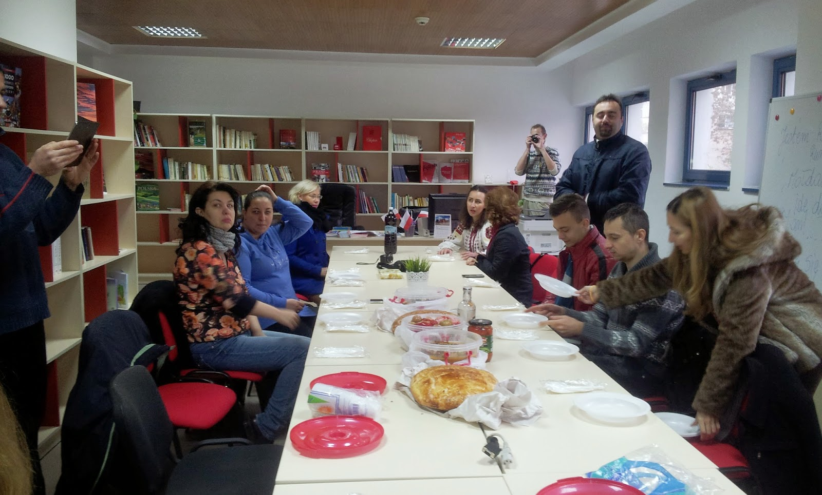 Blogerii in vizita la Centrul Cultural Polonez