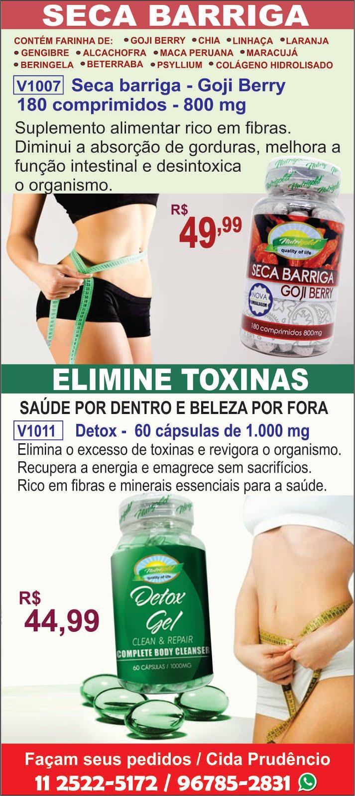 SECA BARRIGA -ELIMINE TOXINAS. EMAGREÇA COM SAÚDE.